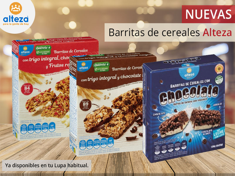 Barritas de cereales Alteza