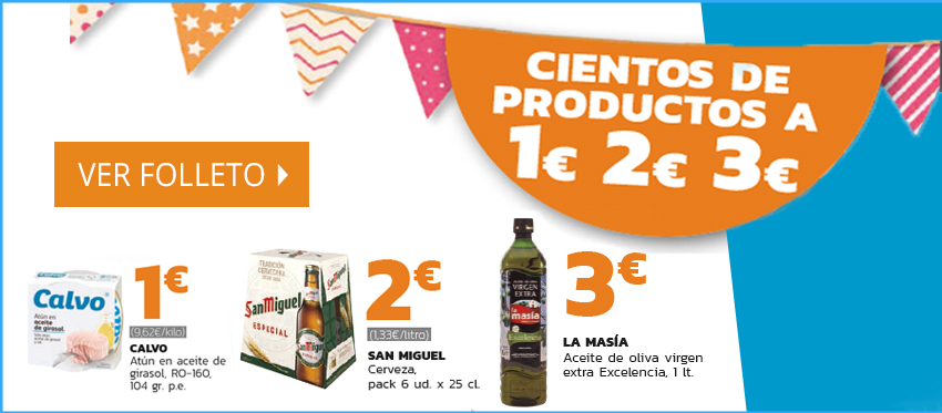 Folleto Lupa - Cientos de productos a 1€, 2€ y 3€