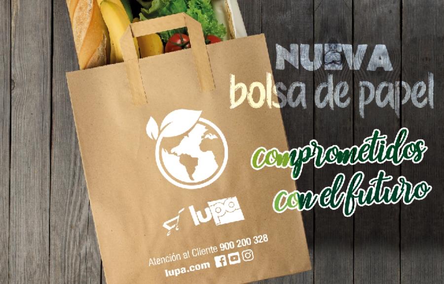 100% de alta calidad último descuento nueva estilos Lupa estrena sus nuevas bolsas de papel cómodas y ecológicas ...